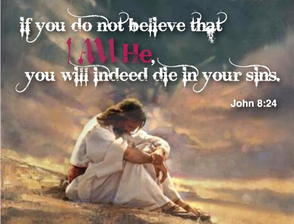 John 8 24